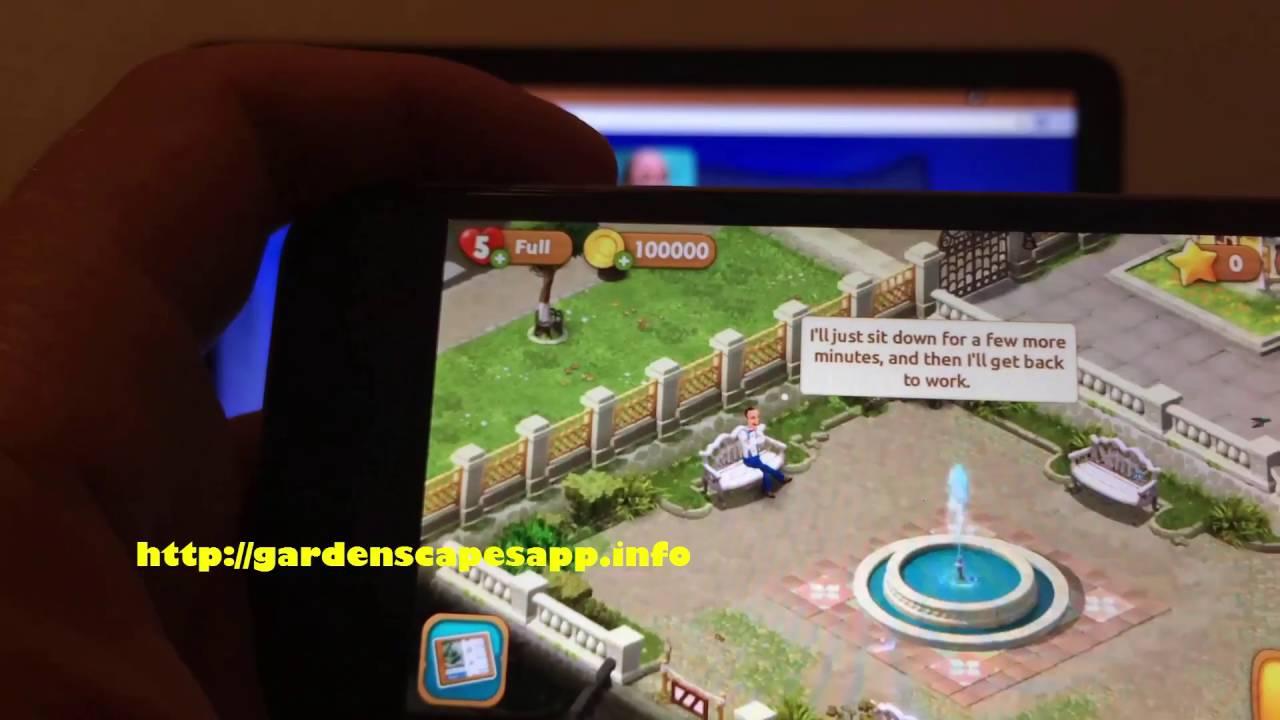 Gardenscapes Hack