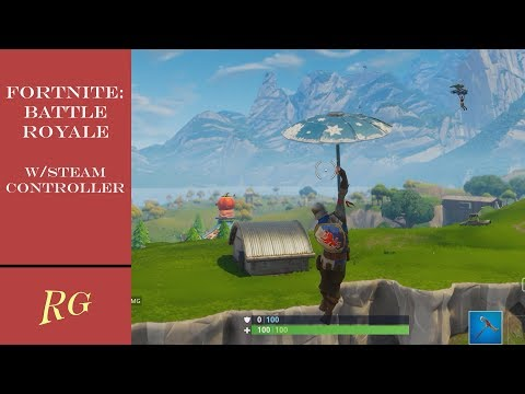A Better Way To Play Fortnite Battle Royale On PC! With Steam Controller