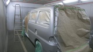 Восстановительный ремонт и покраска Hyundai Starex GRX