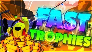 Pushing Trophies FAST without Money!