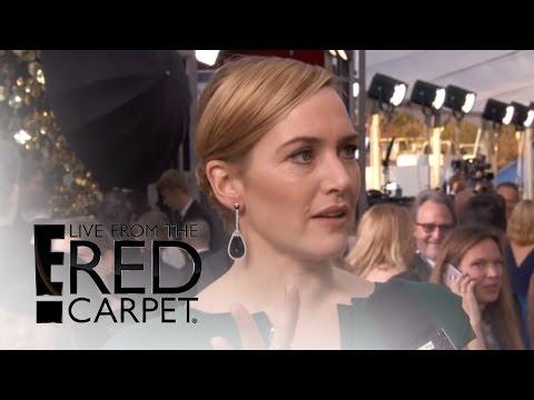 Kate Winslet Explains Globes Shock at 2016 SAG Awards | Live From the Red Carpet | E! News