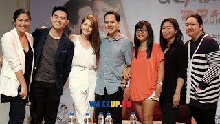 Part 1 one more chance movie book & dvd launch with bea alonzo john lloyd dimples romana