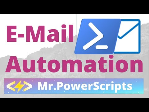 Send An Email From Powershell !