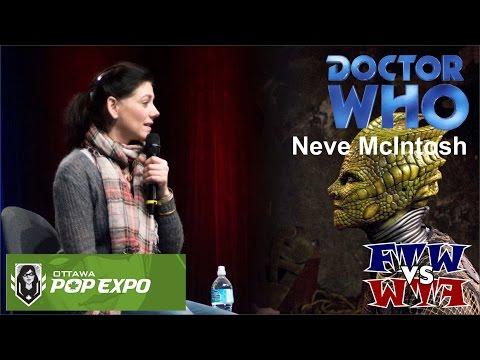 Doctor Who's Neve McIntosh (Madame Vastra) - Pop Expo