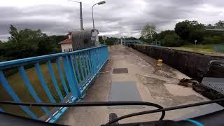 Tour en VTT le long du canal de la Marne au Rhin