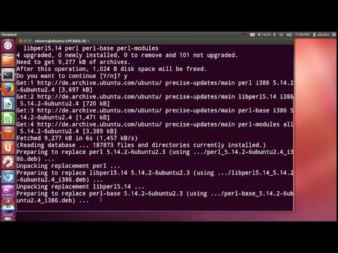 How to install PERL on Ubuntu Linux + perl editor SciTE