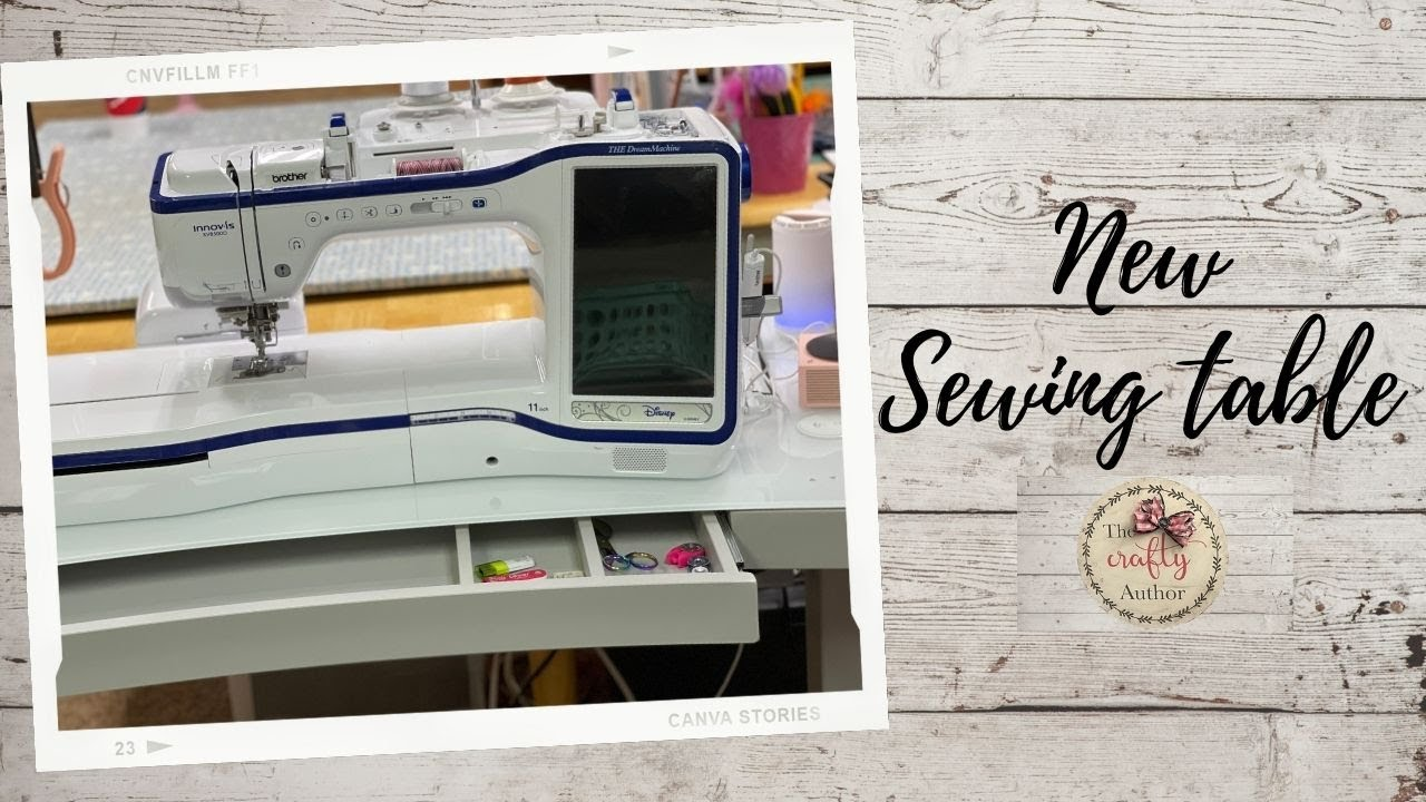 NEW SEWING TABLE FROM A DESK