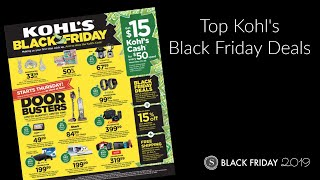 The Best Kohl's Black Friday Deals 2019