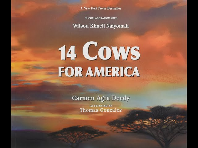 Read-Aloud Book: Fourteen Cows for America