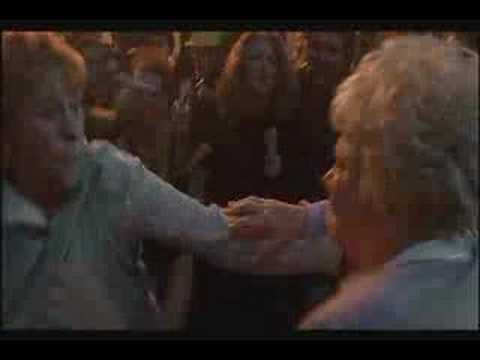 Grandma Fight Club (deleted scene from little nicky)