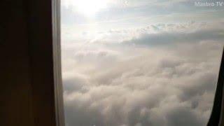 Pemandangan Menakjubkan Ketika Kamu Naik Pesawat Pada Pagi Hari