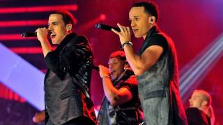 "JLS perform ""Take A Chance On Me"" - Children in Need Rocks Manchester - BBC"