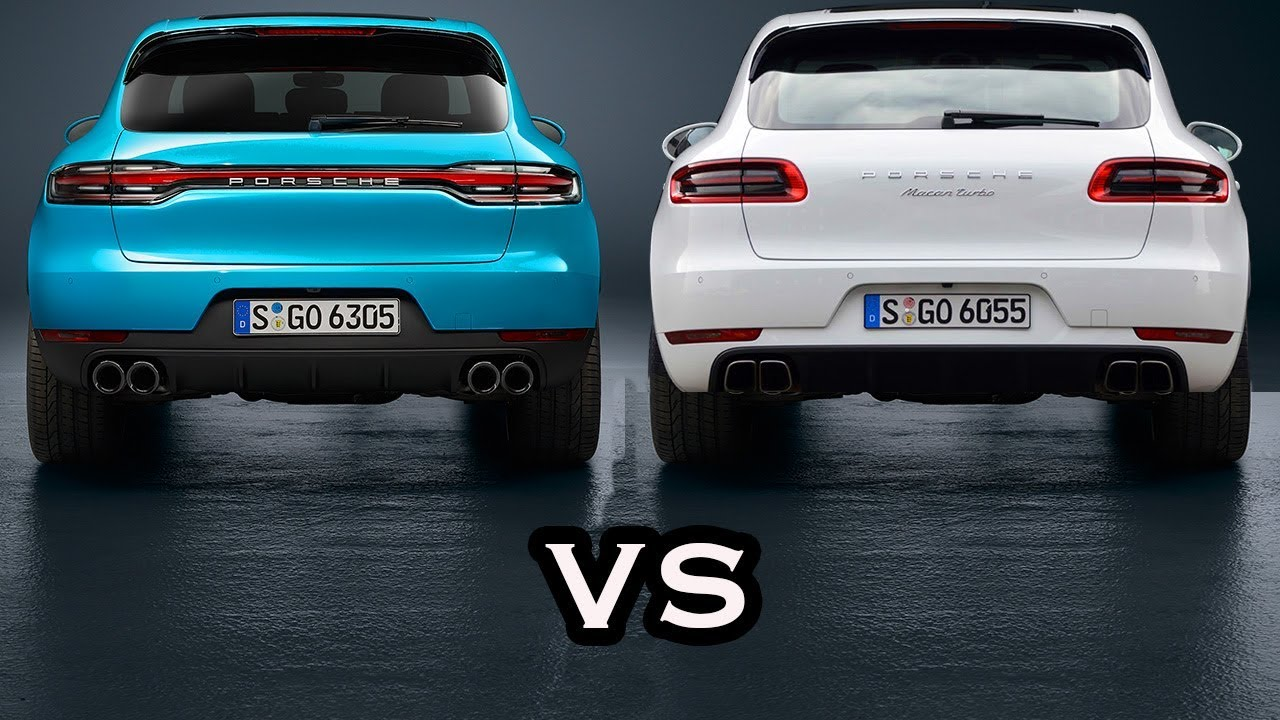 2019 Porsche Macan Vs 2018 Porsche Macan Design Comparison Youtube