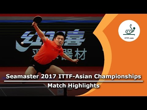 2017 Asian Championships Highlights: Fan Zhendong vs Muhammad Rameez (R64)