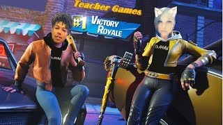 FORTNITE w/Teacher [Open Lobby] Road to 8K 'LIVE' [Huge Giveaway - 10K]