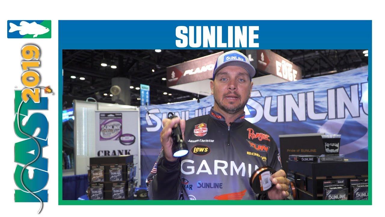 Sunline Power 2C FC Fluorocarbon Line with Jason Christie | iCast 2019