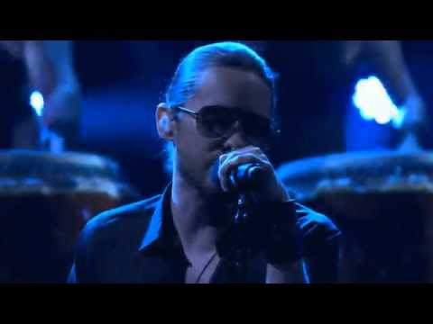 30 Seconds To Mars - Up In The Air (LiveConanShow)