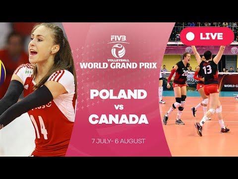 Poland v Canada - Group 2: 2017 FIVB Volleyball World Grand Prix