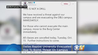 Dallas Baptist University Evacuated Due To Bomb Threat, Classes Canceled