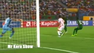 ملخص مباراة تونس وزامبيا 1/2 الشوالي يغني لتونس