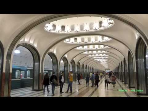 30 Minutes of the Metro in Moscow, Russia
