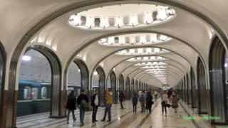 Московский метрополитен: 30 минуты. 30 Minutes of the Metro in Moscow, Russia