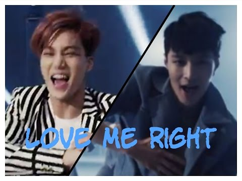 EXO Ranking In Love Me Right (OFFICIAL) HD