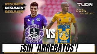 Resumen y goles | Mazatlán 0 - 0 Tigres | Copa por México | TUDN