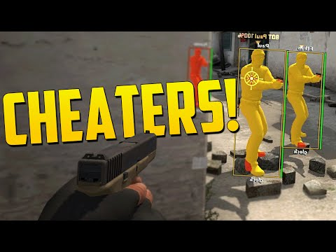 CHEATERS! - CS GO Overwatch Funny Moments