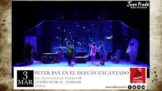 Peter Pan en el desván encantado - 3 de marzo 2018, 18:00h - Teatro Juan Prado (Valdemoro)