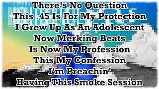 Young Drummer Boy - Smoke Session (With Lyrics On Screen)-High Forever 2015