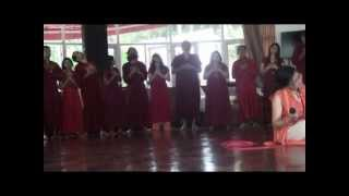 Rare video -  High Energy in Group Prayer Meditation at Tapoban