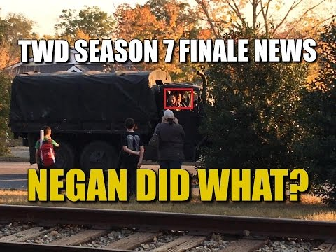 The Walking Dead Season 7 Episode 16 Spoiler News Chanting & Cheering In Alexandria! Negan Did What?