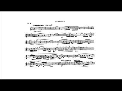 "Theo Charlier: Study n. 4 ""Du Style"" (Pierre Thibaud, trumpet)"