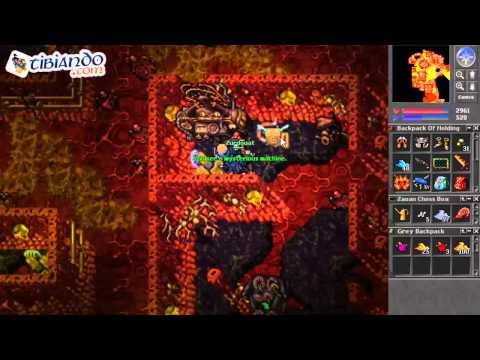 Crystal wolf mount tibia tutorial doovi for Door 999 tibia