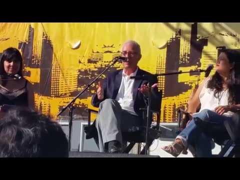 Panel (3) con Miguel Tinker Salas, Ruben Luengas, Reyna Grande y Eileen Truax, Ayotzinapa