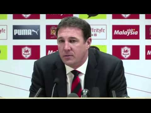 Malkay Mackay's last statement as Cardiff City manager