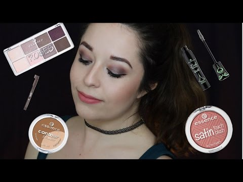 HIT OR MISS? | TESTING OUT ESSENCE MAKEUP | FULL FACE OF FIR