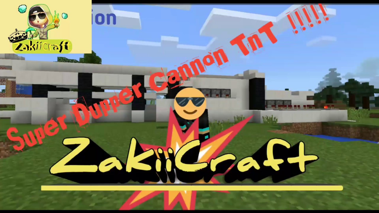 minecraft pe how to make a cannon