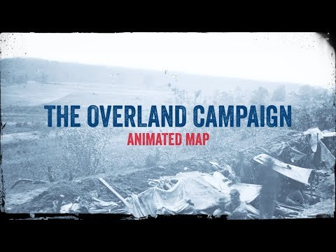 The Overland Campaign: Animated Battle Map