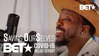 """Anthony Hamilton Performs Powerful Rendition Of """"Lean On Me"""" By Bill Withers! 