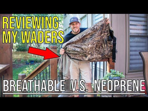 Breathable VS Neoprene Waders | Rogers 3 In 1 Insulated Breathable Wader Review