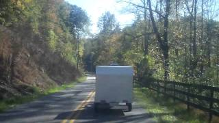 BIKE PULLING TRAILER.MOV