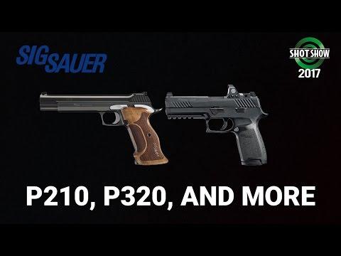 Sig Sauer P210 & P320 - SHOT Show 2017 Day 3