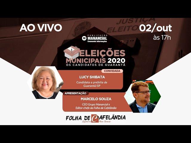 Lucy Shibata | Eleições Municipais 2020 | Os candidatos de Guarantã