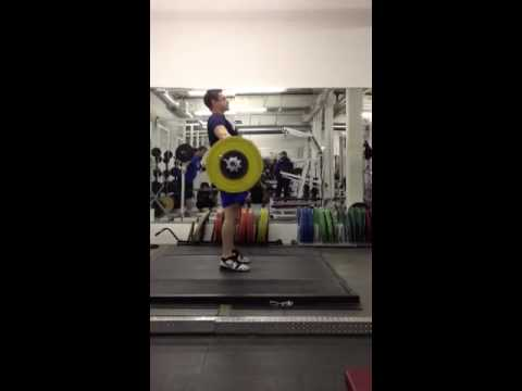 305lbs Snatch From Hang