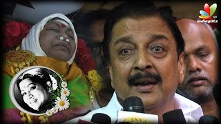 Sivakumar explains the struggeled behind the successful actress Manorama | Aachi Death
