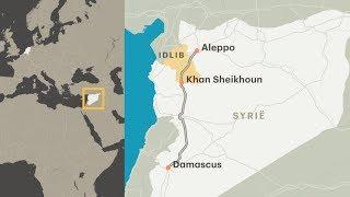 Leger Syrische president Assad rukt op naar Idlib