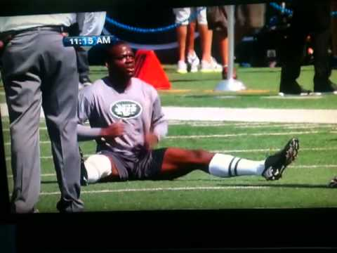 Stephen Hill Jets Warmup
