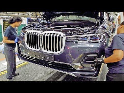 Как собирают BMW